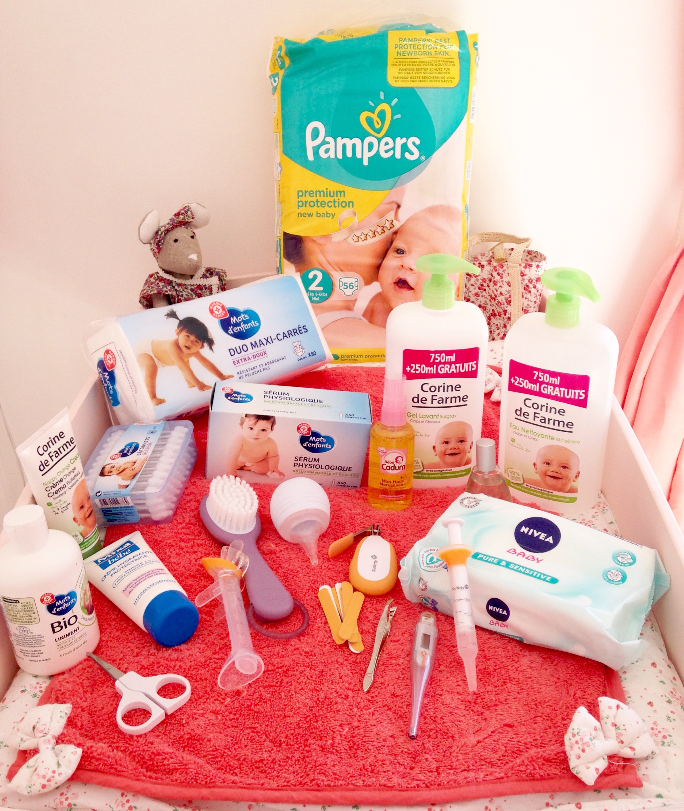 produits necessaires pour bebe